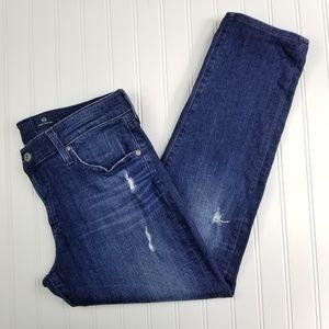 AG Nolan Relaxed Slim Boyfriend Jeans Size 32
